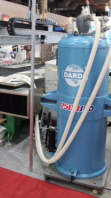 Sistema de Remoção de Abrasivos