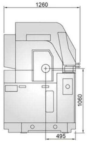 Torno de Cabeçote Móvel (Torno Suiço) - RSL 20